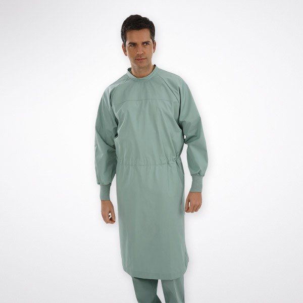 SURGEON GOWN WITH STRIPS