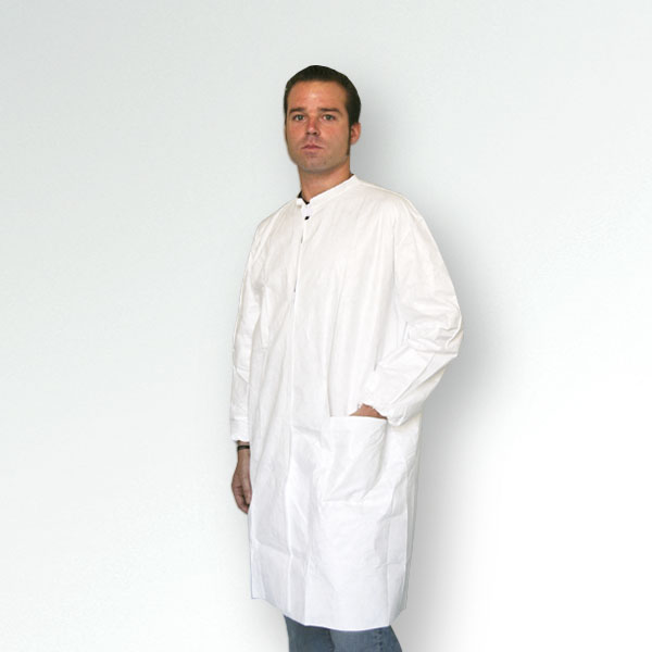 TYVEK GOWN WITH VELCRO